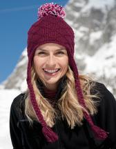 Glacier Pom Pom Hat